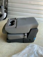 NICE!!! 2015-2019 FORD F150 CENTER JUMP SEAT CONSOLE GRAY VINYL OEM NEW