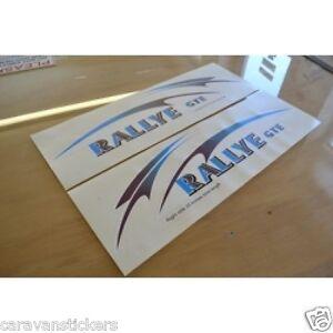 COMPASS Rallye Side Caravan Stickers Decals Graphics PAIR EBay - Graphics for caravanscaravan stickers ebay