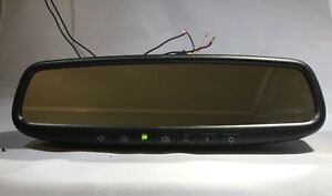 Gentex-453 Auto Dim Rear View Mirror HomeLink Orange Compass Nissan Toyota