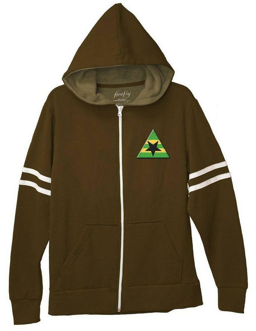 Firefly Brauncoats Stay Shiny Zip-Up Hoodie Sweatshirt