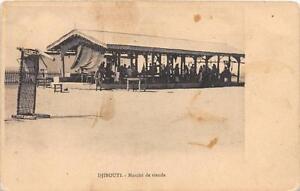 CPA-DJIBOUTI-MARCHE-DE-VIANDE
