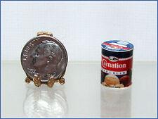 Dollhouse Miniature Handcrafted Round Ice Cream Carton