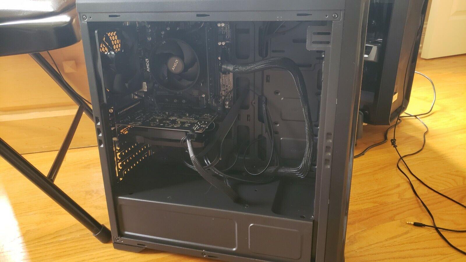Custom Ryzen gaming PC 1 TB 4GB Radeon