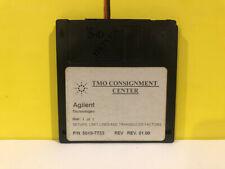 Agilent 5010 7733 Setups Limit Lines And Transducer Factors Floppy Disk Software