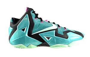 brand new f0f94 967b1 Image is loading DS-NIKE-ZOOM-LEBRON-XI-11-SOUTH-BEACH-