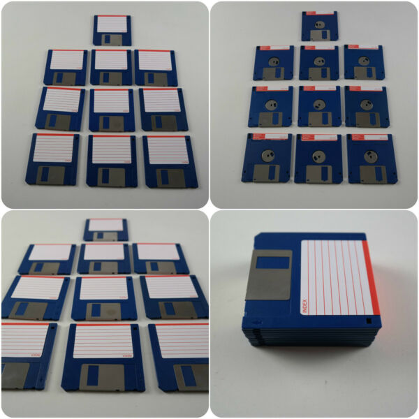 "10 3.5"" Ds Dd Floppy Disks Amiga Formatted Fully Checked No Errors Atari St Pc Zonden En Botten Versterken"