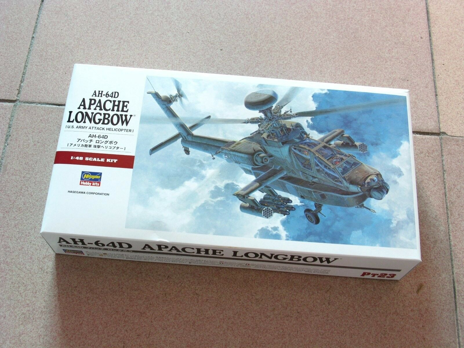 Hasegawa 1 48 AH-64D Apache Longbow  U.S. Army