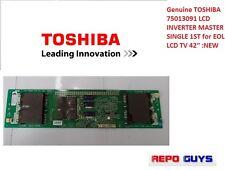 Genuine TOSHIBA 75013091 LCD INVERTER MASTER SINGLE 1ST for EOL LCD TV 42'' :NEW