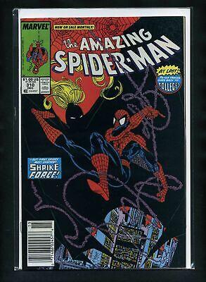 Todd McFarlane Direct Marvel Comics 1989 Stock Image AMAZING SPIDER-MAN #314 VF