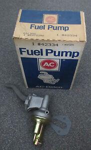 6472296-NEW-NOS-AC-Delco-Fuel-Pump-42334-1982-1984-Ford-3-8L-V6-M60205