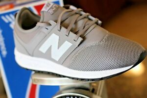 New-Balance-Men-039-s-TWO-FOUR-SEVEN-EDITION-247-Classic-Shoes-Grey-with-White