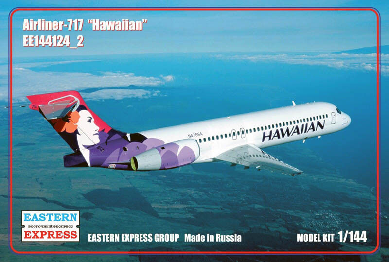 Eastern Express 1 144 Boeing B-717 Hawaiian Airlines Civil Airliner