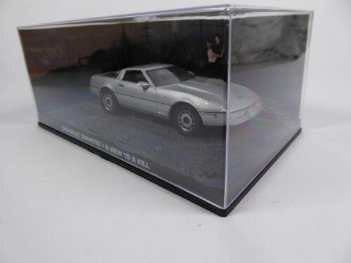 Chevrolet Corvette James Bond 007 A View to a Kill 1:43 Diecast Model Car DY037