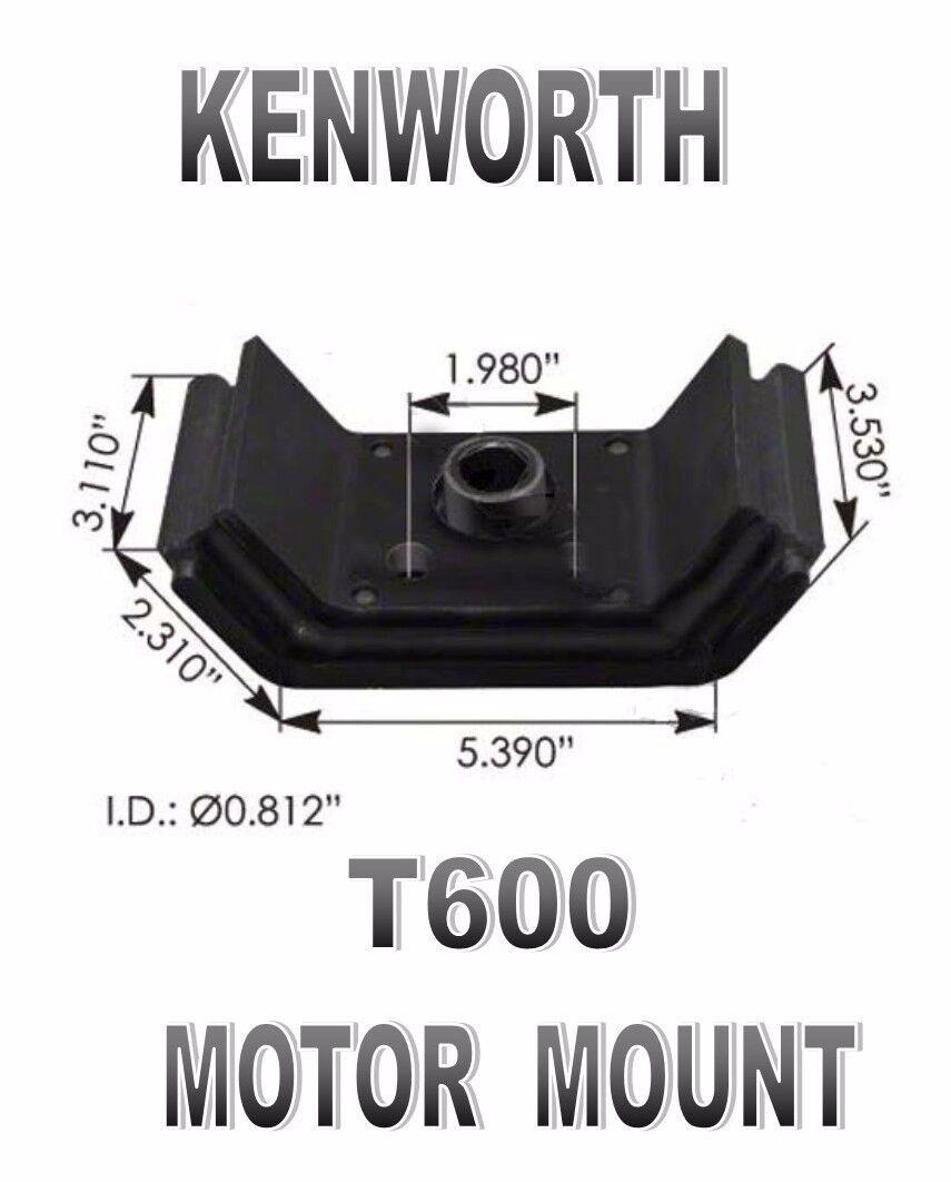 Kenworth T600 Motor Mount Kit Rear Set Of Two K066 377