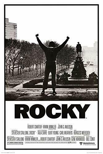 Rocky Movie Laminated Poster 24.5 x 36.5 inches