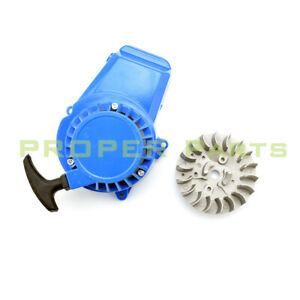 Flywheel Fly Wheel 47cc 49cc Pull Start Engine ATV Quad Mini Moto Dirt Pocket