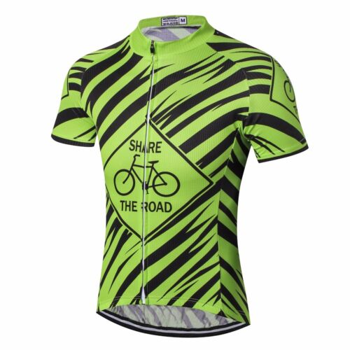 Mens MTB Clothing Cycling Jersey Bicycle Sportswear Short Sleeve Bike Shirt Top