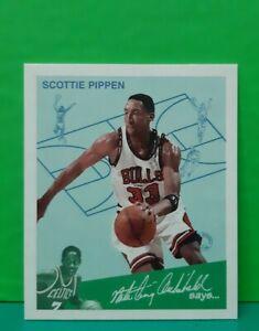 Scottie Pippen insert card Goudey Greats 1997-98 Fleer #10