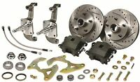 1955 1556 1957 Chevy Bel Air 150 210 Disc Brake Stock Height With Spindles