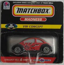 "Matchbox – VW Concept 1 / New Beetle ""TACO BELL"" Neu/OVP"