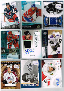 HUGE-Lot-Of-2009-10-Autos-Game-Used-Rookies-Parallels-Inserts-Base