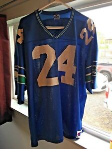 lowest price 17b43 61e37 Details about Rare vintage Seattle Seahawks jersey - SHAWN SPRINGS #24. Xxl