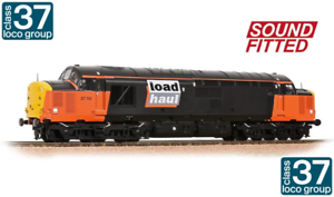 32-390SDDS CLASS 37//7 37710 LOADHAUL DIESEL LOCOMOTIVE SOUND FITTED