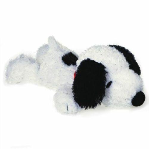 "Peanuts Snoopy Sparkly Floppy Stuffed Animal 12/"""