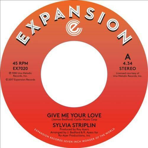 STRIPLIN, SYLVIA - GIVE ME YOUR LOVE/YOU CAN NEW CD