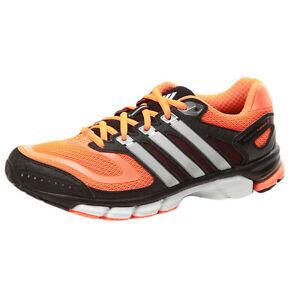 ADIDAS RESPONSE CUSHION 22 M Scarpe da corsa ginnastica jogging neroarancio