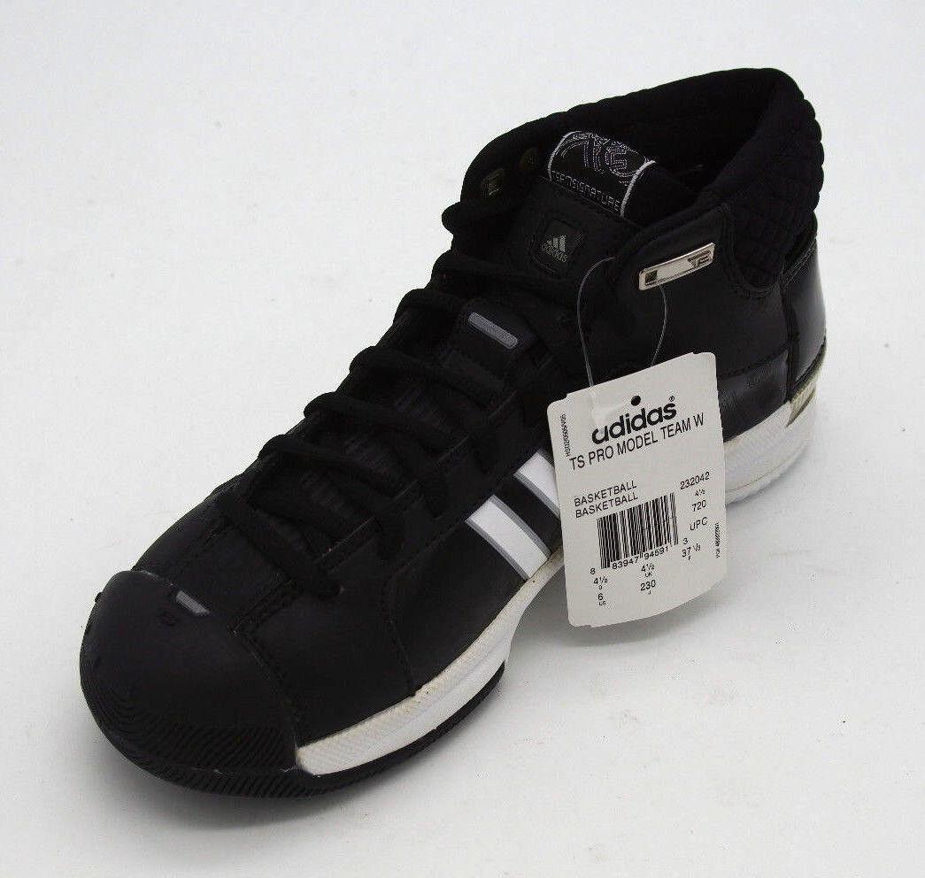 sale retailer cb487 28368 ... New w Box Women s adidas TS Pro Model Model Model Team W Black   White  Basketball ...