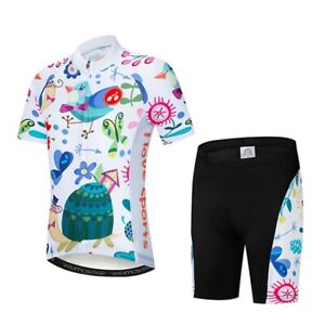 Image is loading Weimostar-Children-Cycling-Jersey-Cartoon-Kids-Cycling- Clothing- 8db2e7c89
