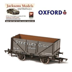 Oxford OR76MW7024 7 Plank Mineral Wagon Steetley and Co Llynclys OO Gauge