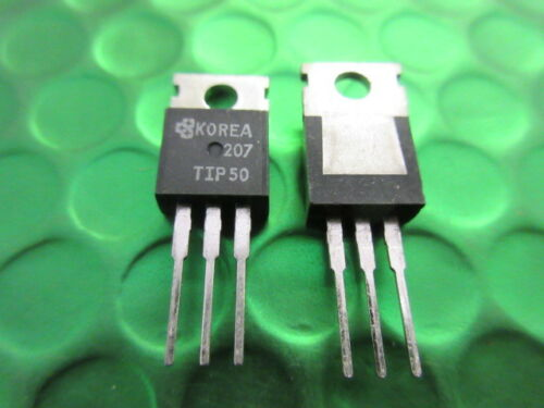TIP50 Power Transistor NPN TO-220 400v 1A UK STOCK TIP50