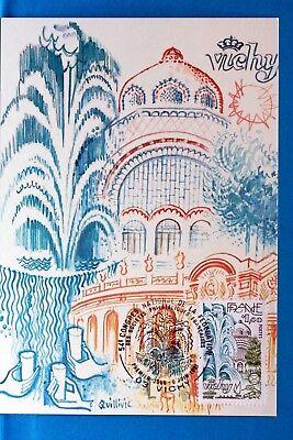 Frankreich & Kolonien Vichy Cpa Postkarte Maximum Yt 2144 C Briefmarken