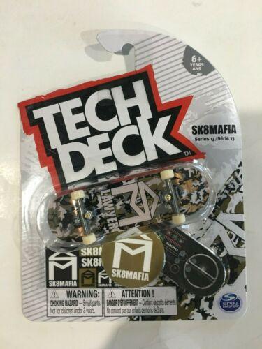 TECH DECK SK 8 Mafia Lawyer Camo Série 13 RARE Touche Skateboard NEUF