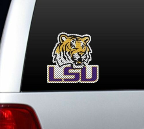 LOUISIANA STATE LSU TIGERS  College WINDOW FILM Large Decal Home Auto Fremont