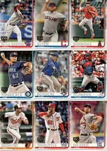 2019-Topps-Series-1-150th-GOLD-STAMP-CARDS-YOU-PICK-COMPLETE-YOUR-SET-on-sale