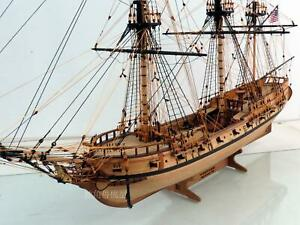 Details About Rattlesnake 1782 Scale 1 48 35 900 Mm Wooden Ship Model Kit