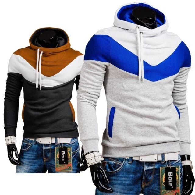 BOLF 27 Kapuzenpullover Hoodie Sweatshirt Sweatjacke Pullover Shirt 1A1 Pulli