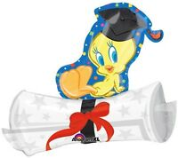 Graduation 31 Balloon Tweety Bird On Diploma Congrats