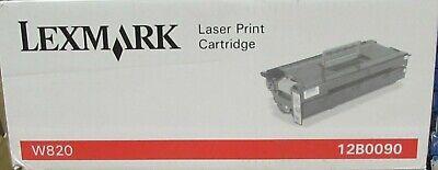NEW OEM Lexmark 12B0090 toner cartridge for W820 X820MFP SEALED BOX