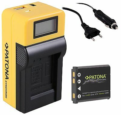 Batería cargador para medion Life p42002 MD 86121//p43000 MD 86124 cargador