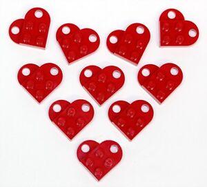 Rojo Corazón Colgante//Regalo de San Valentín//Gratis Reino Unido P/&p