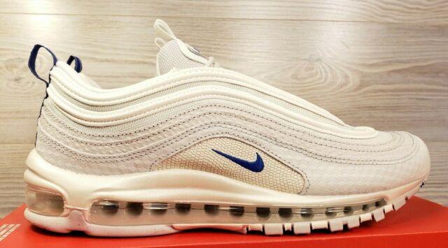 Details about Mens Nike Air Max Plus 97 Trainers Pure PlatinumRacer Blue CD7862 002