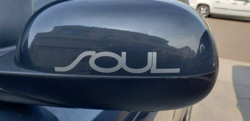 2 PIECES Kia Soul Side Rear View Mirror stickers