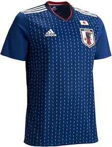 2018-2019 Japan JFA National Team Jersey Shirt Home Adidas FIFA ...