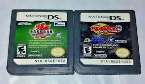 Bakugan-Defenders-BeyBlade-Fusion-Nintendo-DS-Lite-2ds-3ds-Game-Lot-Tested