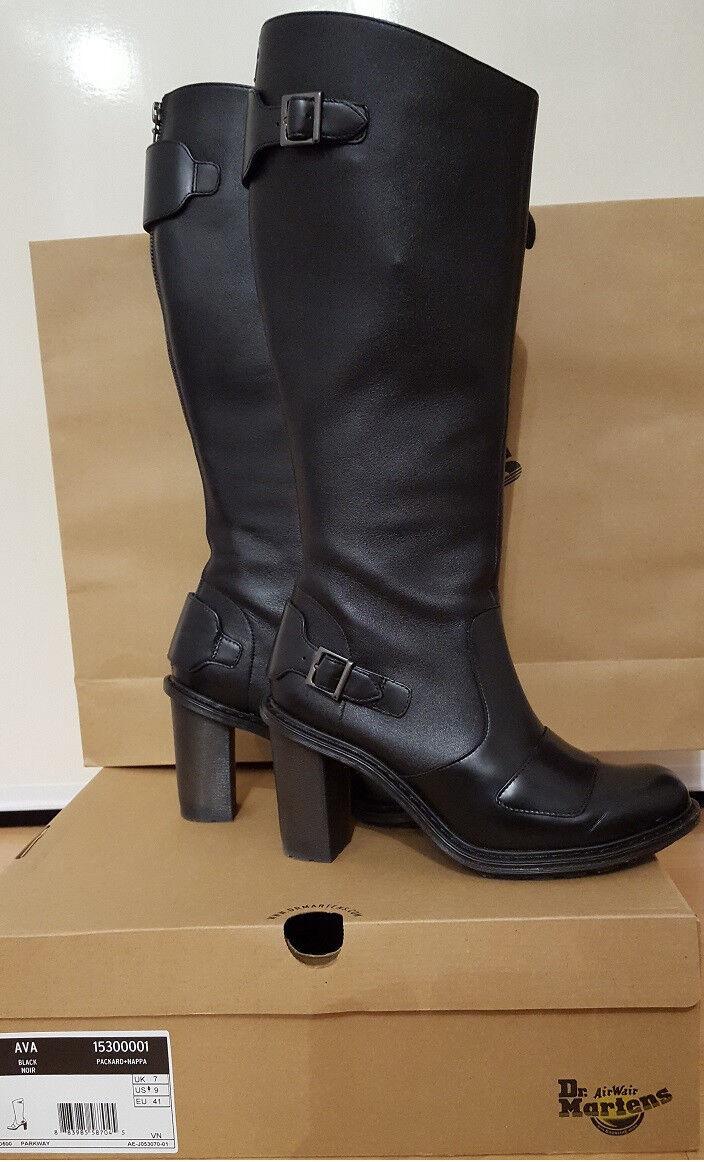 Dr Martens AVA Damen UK Stiefel schwarz EU 41 UK Damen 7 WIE NEU ausverkauft sehr rar 886cbb