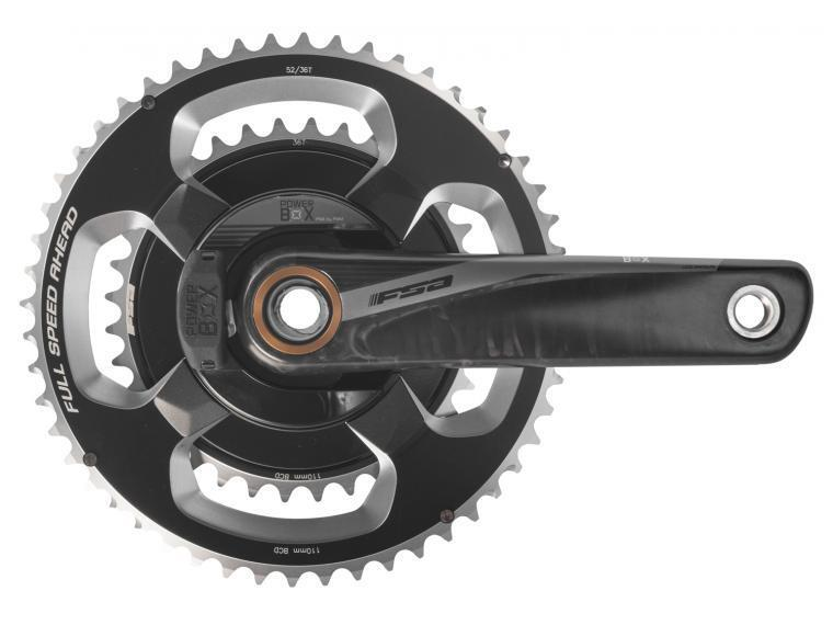 FSA POWERBOX CARBON CRANKSET 170MM 5034T 386EVO 11 Speed CRANK grigio wo BB